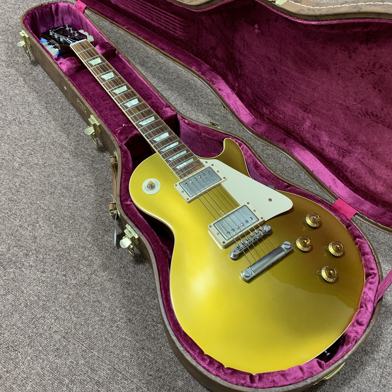 Gibson Custom Shop Historic Collection 1957 Les Paul Gold Top 2014年製 [LPR7]