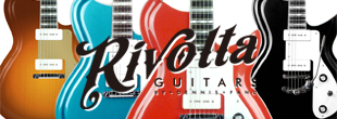 Rivolta Guitars Designed by Dennis Fano
